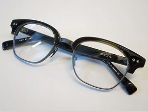 ecc74f70701 DITA STATESMAN TWO Dark Tortoise Burnt Brown Gun Glasses Eyewear ...