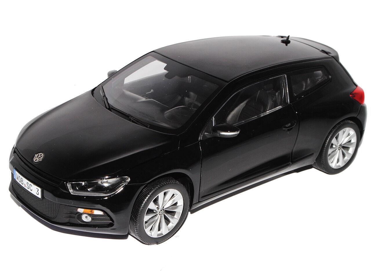 VW VOLKSWAGEN SCIROCCO Coupe Nero Nero Nero dal 2008 3. Generation 1 18 NOREV A. modello. 0214d2