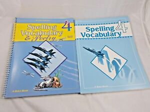 A-Beka-Spelling-Vocabulary-amp-Poetry-4-Teacher-Edition-amp-Test-Key-Second-Edition