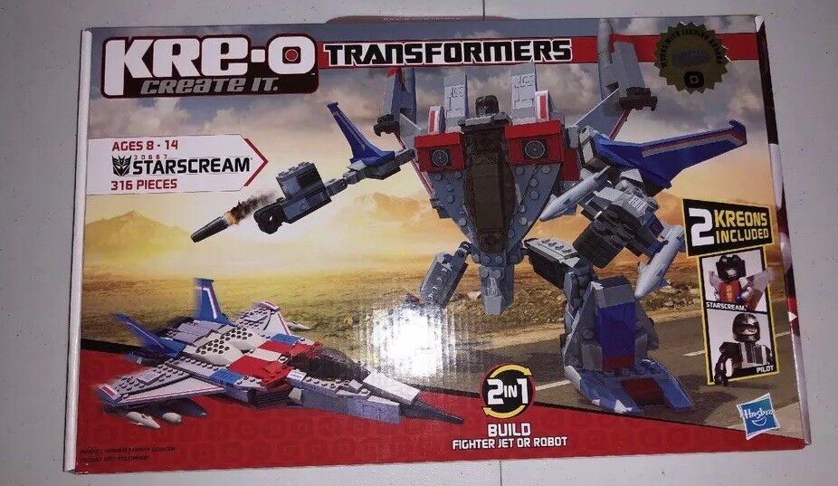 KRE-O Transformers Starscream 30667 KREO misb