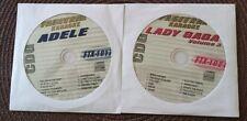 2 CDG 2011/2012 KARAOKE LOT HITS OF LADY GAGA & ADELE FTX 1017,1021 ($39.99)