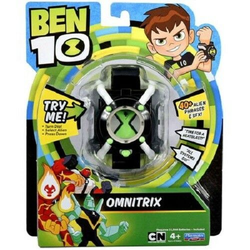 BEN 10 Omnitrix Watch with 40+ Phrases Lights & Sounds New