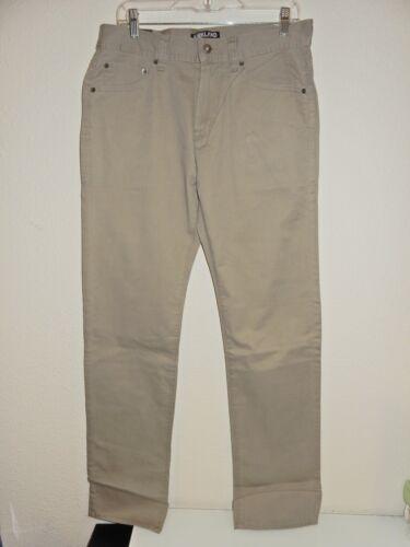 Men/'s Kirkland Signature 5 Pocket Brushed Cotton Pants Choose Size /& Color