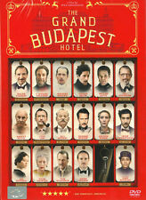 The Grand Budapest Hotel (Region 3) Ralph Fiennes, <Brand New DVD>
