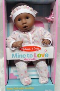 Melissa /& Doug Mine To Love Gabrielle Baby Doll