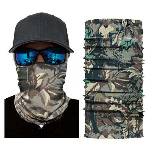 Face Shield Neck Balaclava Sun Mask Fishing Scarf Headwear UV