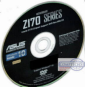 Details about ASUS Z170 SERIES MOTHERBOARD DRIVERS M3339 WIN 7 8 8 1 10  DUAL LAYER DISK