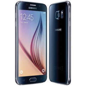 Samsung Galaxy S6 SM-G920W 32GB Black LTE Cellular Bell Mobility
