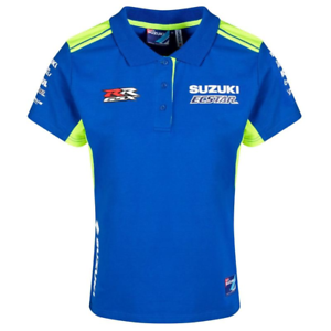 Genuine Suzuki Moto GP Ladies Polo 2019 Womans T-Shirt
