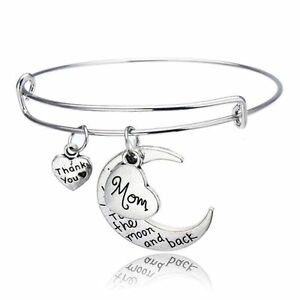 Image Is Loading Mom Bracelet I Love You To The Moon