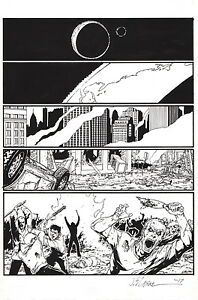 Jim-Calafiore-SIGNED-DC-Comics-Red-Lanterns-38-Original-Art-Page-1