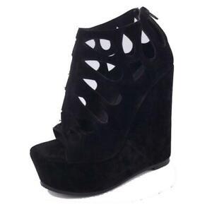 Plus Size Women Platform Sandals Open