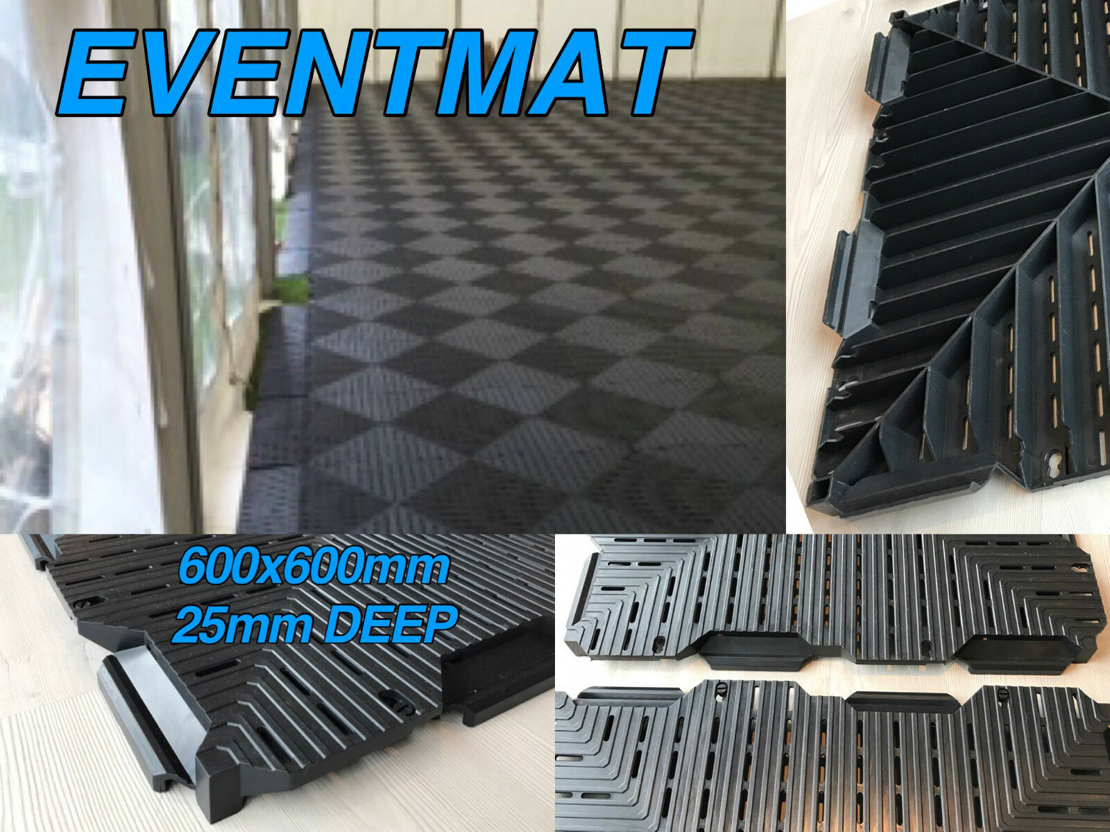 MARQUEE FLOOR MAT PATH PLASTIC GRID GROUND PROTECTION TEMPORARY FLOOR GRID PATH