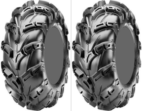 Pair 2 CST Wild Thang 28x12-12 ATV Tire Set 28x12x12 CU06 28-12-12