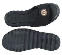 Men Reebok Zignano Slide Sandal J98675 Black Silver 100% Original Brand