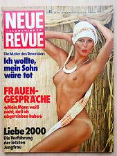 Neue Revue Nr 41/1975, Charlie Chaplin, Uschi Obermaier, Margaux Hemingway