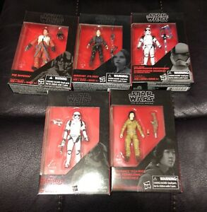 Star Wars 3.75 Black Series Lot