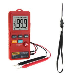 Digital Multimeter LCD Multi Tester Volt Ohm Diode Durchgangsprüfer Rot
