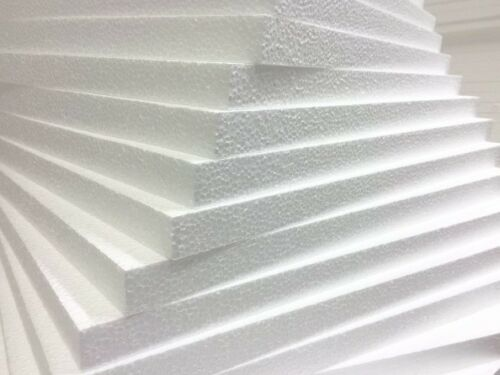 POLYSTYRENE EPS 70 INSULATION SHEETS 100MM 2400 X 1200 6 SHEETS