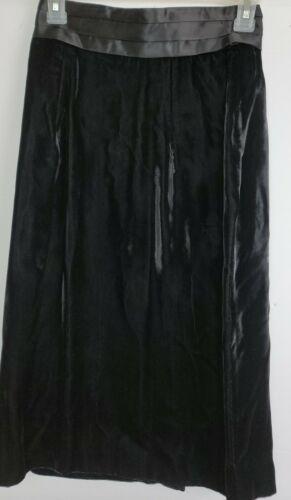 Scott McClintock Vintage Womens 6 Black Velvet Mid