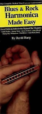 Blues and Rock Harmonica : Everything You Need to Know Paperback David Harp