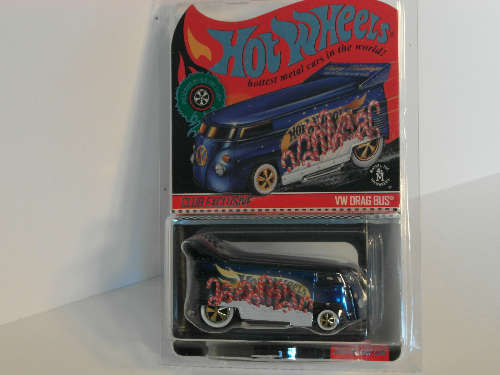 2019 HW RLC EXCLUSIVE HOLIDAY VW VOLKSWAGEN DRAG BUS CHRISTMAS Bus  3561  10,000