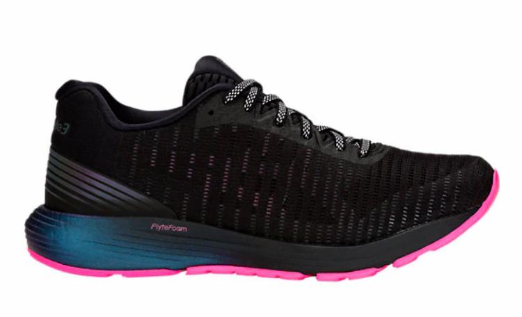 ASICS 1012A128.001 dynaflyte 3 LITE-SHOW WMN' (M) Noir Maille Chaussures de course