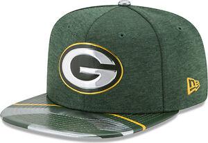 New-Era-Green-Bay-Packers-Draft-On-Etapa-2017-Limitado-Gorra-Snapback-S-M-9fifty