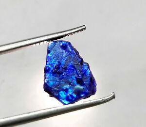 100-Natural-Untreated-Unheated-Kashmire-Blue-Sapphire-Rough-Loose-Gemstone