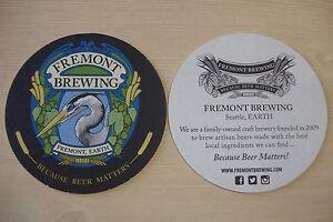 2 Bière Barre Dessous De Verre  Fremont Brewing Co~ Seattle,washington; Fondée Rxjsvczz-07233122-698571795