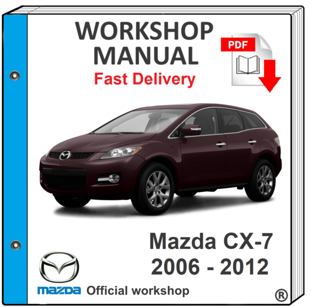 2008 Mazda CX-7 OWNERS MANUAL BOOK SET CX7