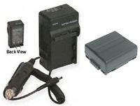 Cga-du07 Battery + Charger For Panasonic Nv-gs10 Nv-gs100 Nv-gs100k
