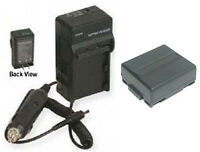 Cga-du07 Battery + Charger For Panasonic Nv-gs10 Nv-gs100 Nv-gs100k