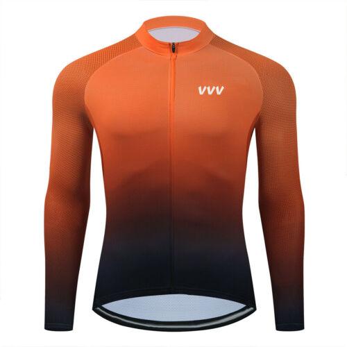 Long Cycling Jersey Shirt Bib Bike Wear Clothing MTB Jacket Winter Cycle Uniform