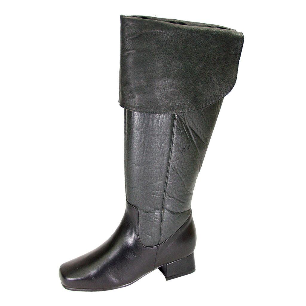 articoli promozionali FIC PEERAGE Mira Mira Mira donna Wide Width Leather Knee High Dress stivali  vendita online sconto prezzo basso