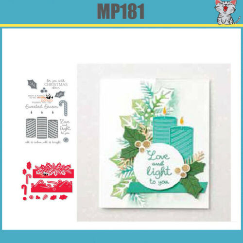 New Arrival SWEETEST TIME Metal Cutting Dies and stamps DIY Scrapbooking Card