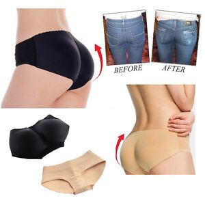 Women-Shapewear-Buttock-Padded-Underwear-Bum-Butt-Lift-Enhancer-Brief-Panties-UK