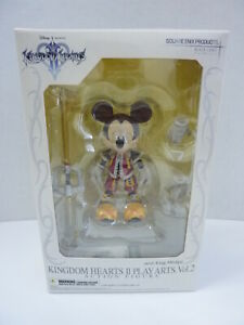 New Square Enix Play Arts Vol.   2 roi coeurs Kingdom Mickey Mouse n ° 6 scellé