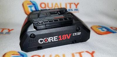 New BOSCH GBA18V40 Core 18V Lithium-Ion Battery 4.0Ah 18 Volt