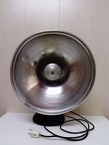 Antica Stufa Electrica Resistenze Forma Del Parabolico Ciotola Anni 50-60 Lavora