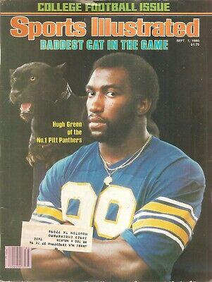 September 1 1980 Hugh Green Pitt Pittsburgh Panthers Sports Illustrated