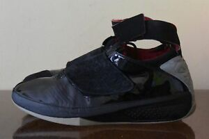 best loved 15fe9 1b233 Image is loading Nike-Air-Jordan-20-XX-Stealth-Black-Varsity-