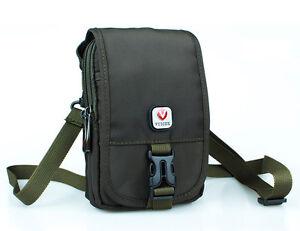 Nylon Small Crossbody Bag Mini Shoulder Bag Cell Phone Holster Travel Belt Pouch