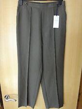 M & S Classic Khaki Mix Trousers BNWT Size 24 Short