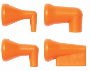 "1/4"" 90° Nozzle Kit (4) Nozzles Loc-Line® USA Original Modular System #41474"