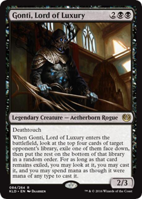 MTG Magic - (R) Kaladesh - Gonti, Lord of Luxury - NM
