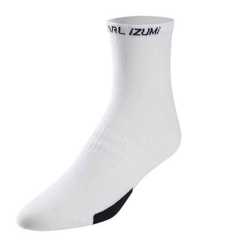 Pearl Izumi Elite Low Bike Socks Screaming Yellow Medium 38.5-41 US 6-8