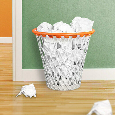 "Büromöbel Papierkorb ""basketball-korb"" Mülleimer Bürospiel Papiereimer Büroablage Abfallei"