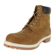 "Timberland Icon 6"" Premium Boots Wide 72066 W Rust Nubuck Mens US size 7.5, UK 7"