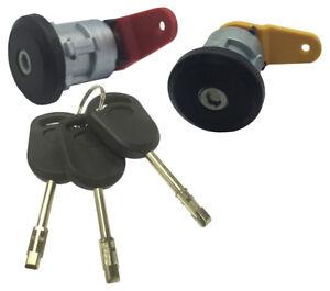 Para-Ford-Delantera-Izquierda-Derecha-Cerradura-amp-3-Llaves